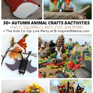 30 Autumn Animal Activities + The Weekly Kids Co-Op