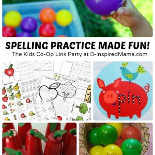 Fun Spelling Activities + The Kids Co-Op Link Party