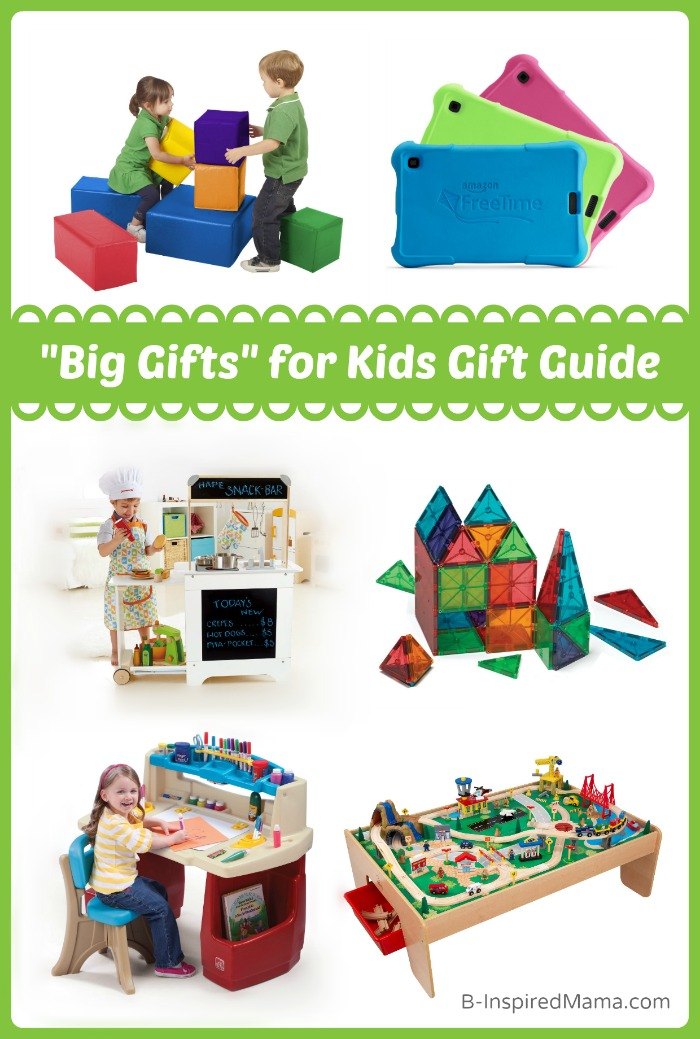 Holiday Gift Guide 2014: Big Gifts for Kids