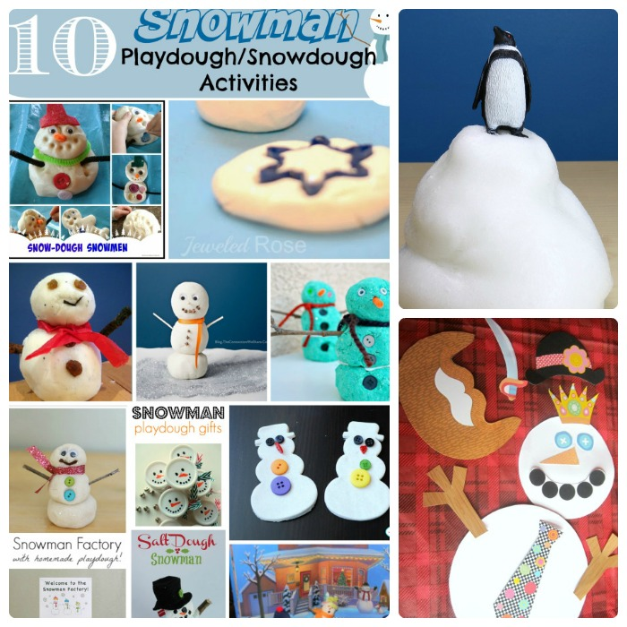 Easy Winter Crafts for Kids + The Kids Co-Op Link Party at B-Inspired Mama