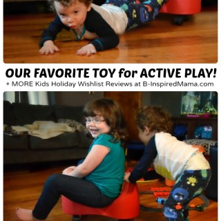 Active Indoor Play with the Fun and Function Scooter + Kids Holiday Wishlist: Reviewed!