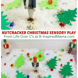 Nutcracker Christmas Sensory Play