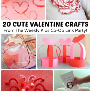 20 Cute Valentine Crafts