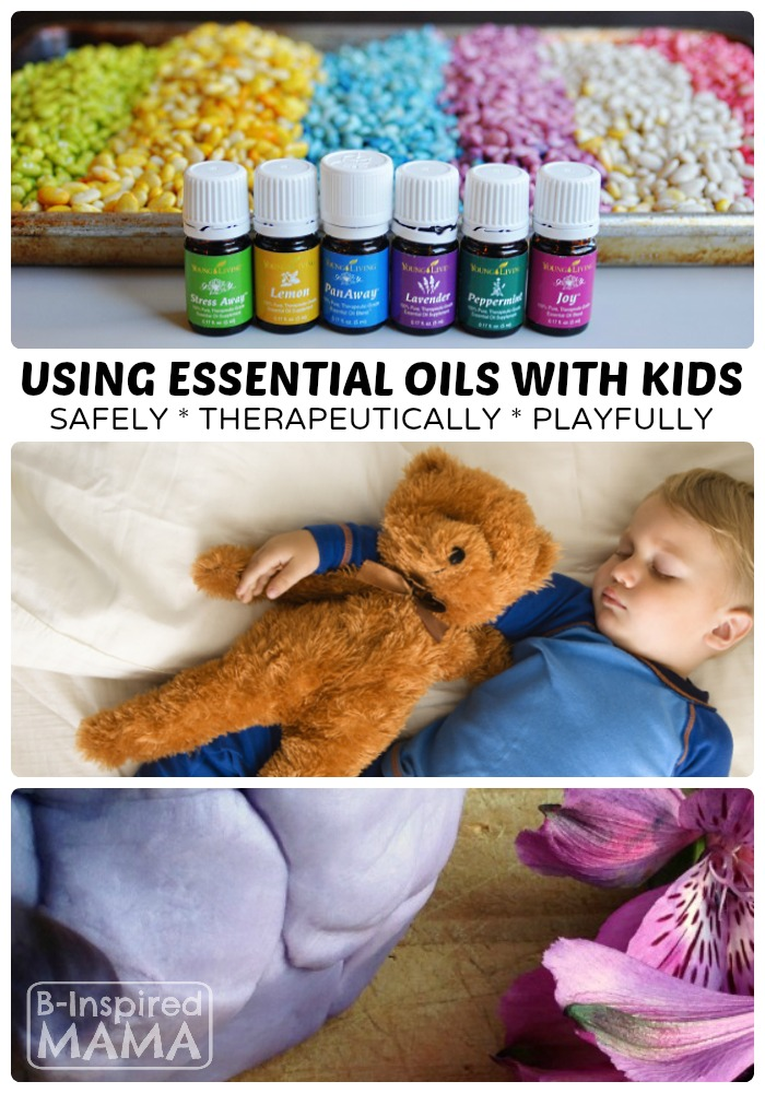 How to Use Essential Oils with Kids