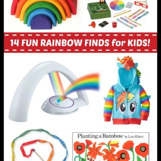 Fun Finds for Kids Rainbow Play and Learning