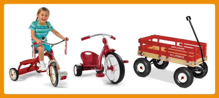 24 Fun Finds for Kids Outdoor Play - Trikes and Wagon - at B-Inspired Mama
