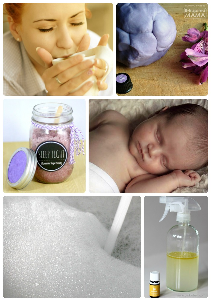 50 Essential Oil Uses for Moms and Kids at B-Inspired Mama