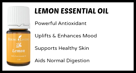 Lemon Essential Oil Uses for Moms and Kids at B-Inspired Mama