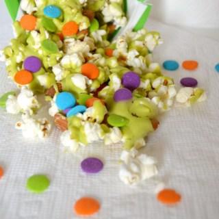 Neon Slime Popcorn Snack Mix