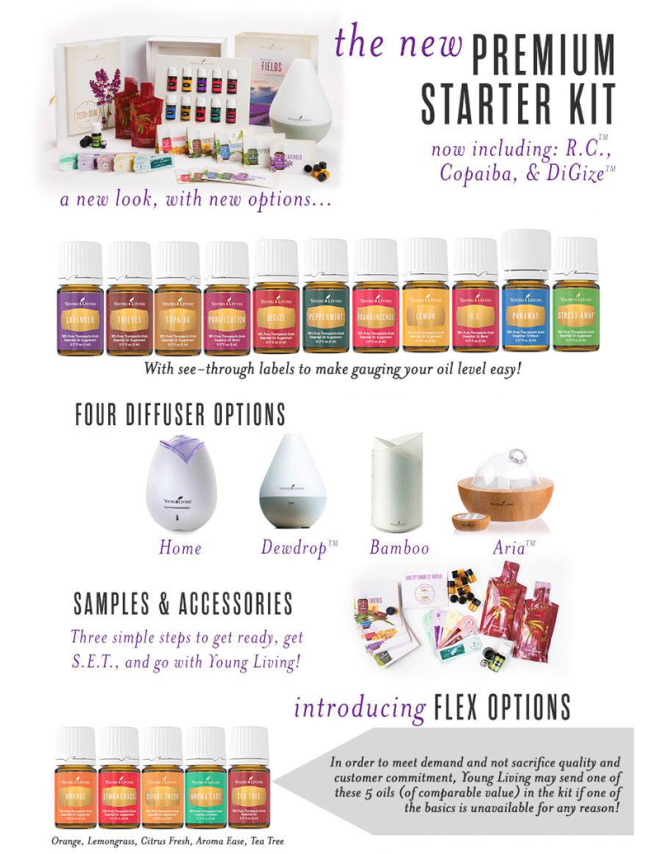Young Living Essential Oils Starter Kit at B-Inspired Mama