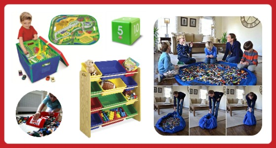 11 Fun Finds to Help Children Clean Up Toys - Fun Finds Friday at B-Inspired Mama