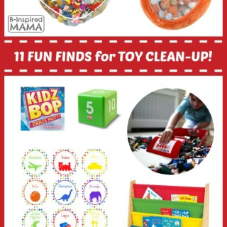 11 Fun Finds to Help Children Clean Up Toys