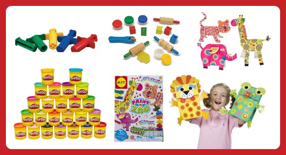 25 Fun Finds for Creative Kids - Playdough and Art Kits -  B-Inspired Mama