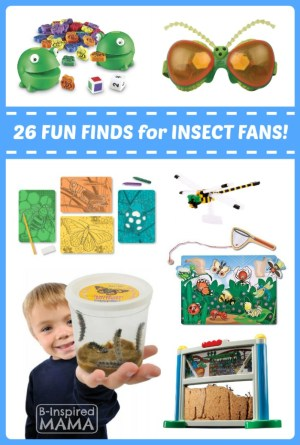 26 Fun Finds for Kids Who Love Insects - Fun Finds Friday at B-Inspired Mama