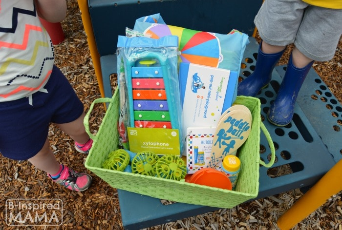 An Outdoor Play Kit + Playground Playdate Ideas for the Playground with Gymboree and B-Inspired Mama