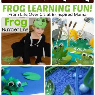 Frog Printable Alphabet Activities + More Frog Fun!