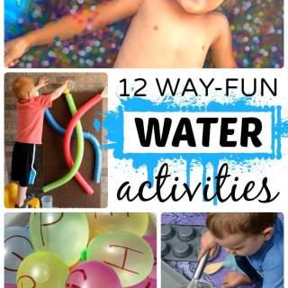 12 Way Fun Water Activities for Kids