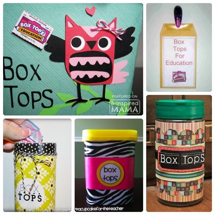 sc 1 st  B-Inspired Mama & 10 Creative Box Tops Storage Ideas Aboutintivar.Com