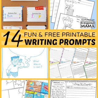 14+ Fun Printable Writing Prompts for Kids
