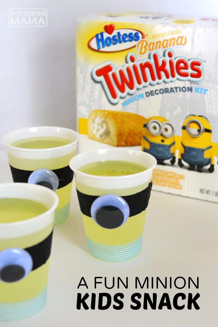 A Fun Minion Filled Kids Snack