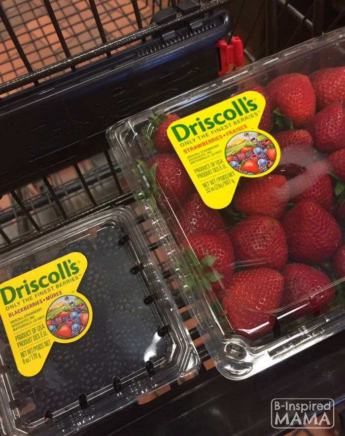 A Sweet School Bus Back to School Breakfast - Buying Our Driscoll's Berries - B-Inspired Mama