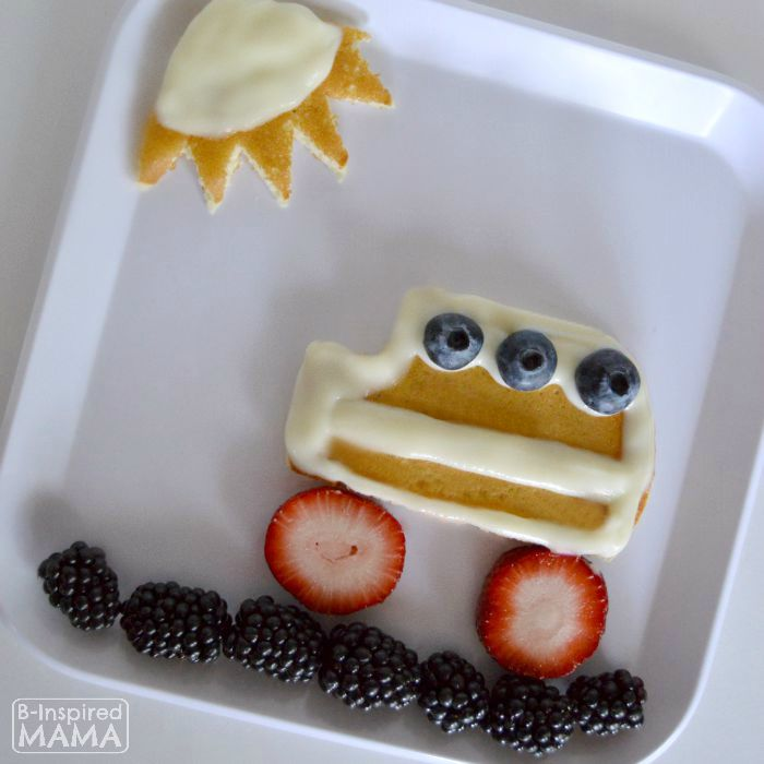 An Easy and Sweet School Bus Back to School Breakfast for Kids - B-Inspired-Mama