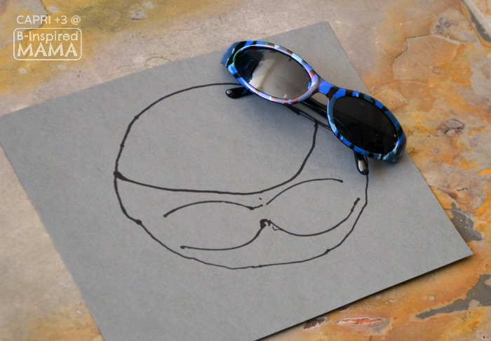 Super Cool Shark Mask Craft for Kids - Drawing the Shark Head - at B-Inspired Mama