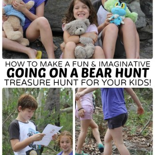 An Imaginative Going on a Bear Hunt Activity