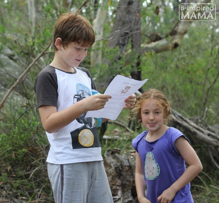 Going on a Bear Hunt Activity - Reading the Map - at B-Inspired Mama