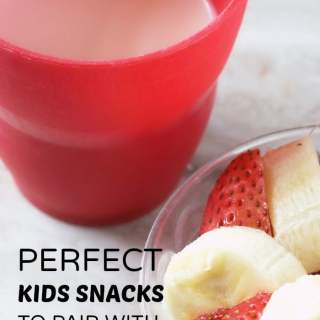 6 Perfect Kids Snacks to Pair with a Healthy Glass of Milk