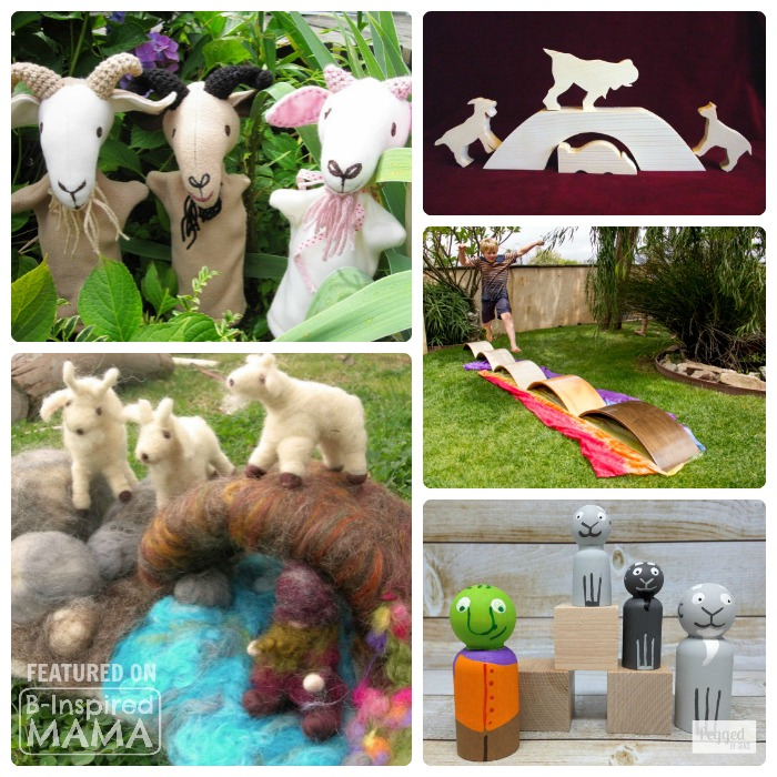 Etsy Finds for Exploring The 3 Billy Goats Gruff - at B-Inspired Mama