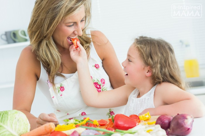 Tips to Help With Your Picky Eater - at B-Inspired Mama