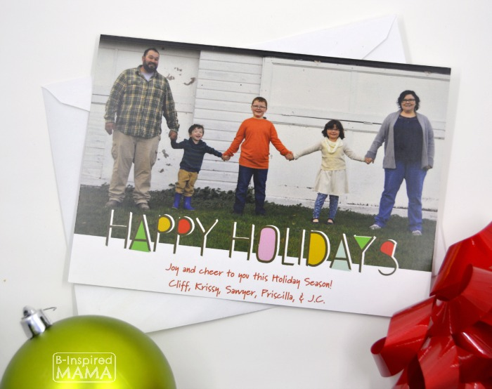 2015 Family Holiday Card + A 2015 Holiday Gift Guide from B-Inspired Mama