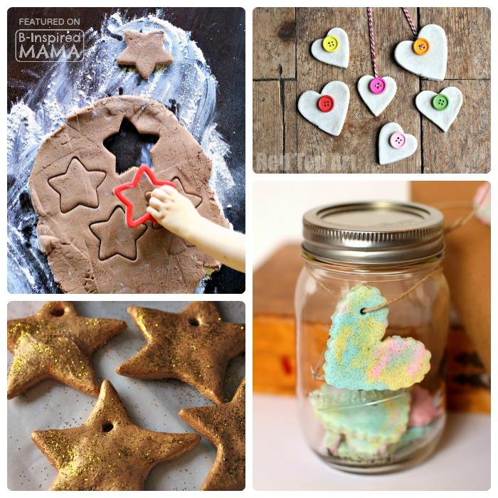 21 Homemade Christmas Ornaments Using Salt Dough B-Inspired Mama