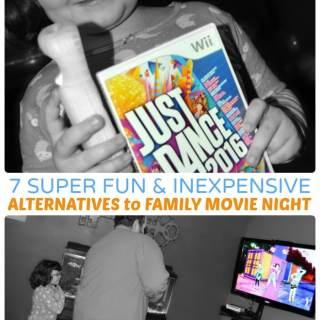 7 Super Fun Alternatives to Family Movie Night