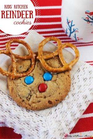 Kids Reindeer Cookies