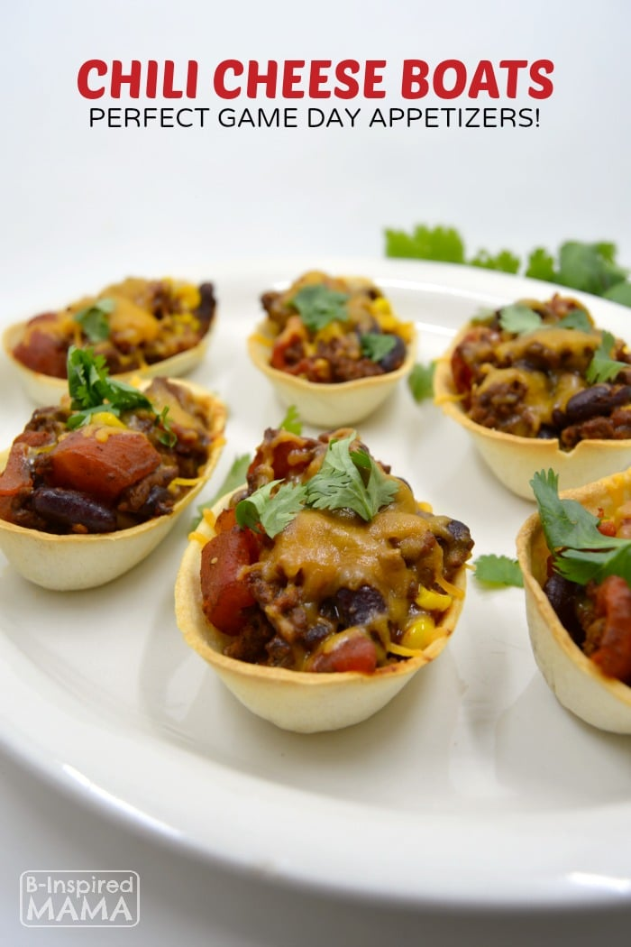 Game Day Chili Cheese Boats