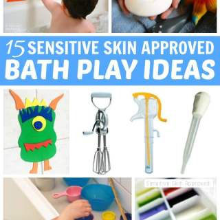 15 Fun Bath Activities for Toddlers Who Have Sensitive Skin