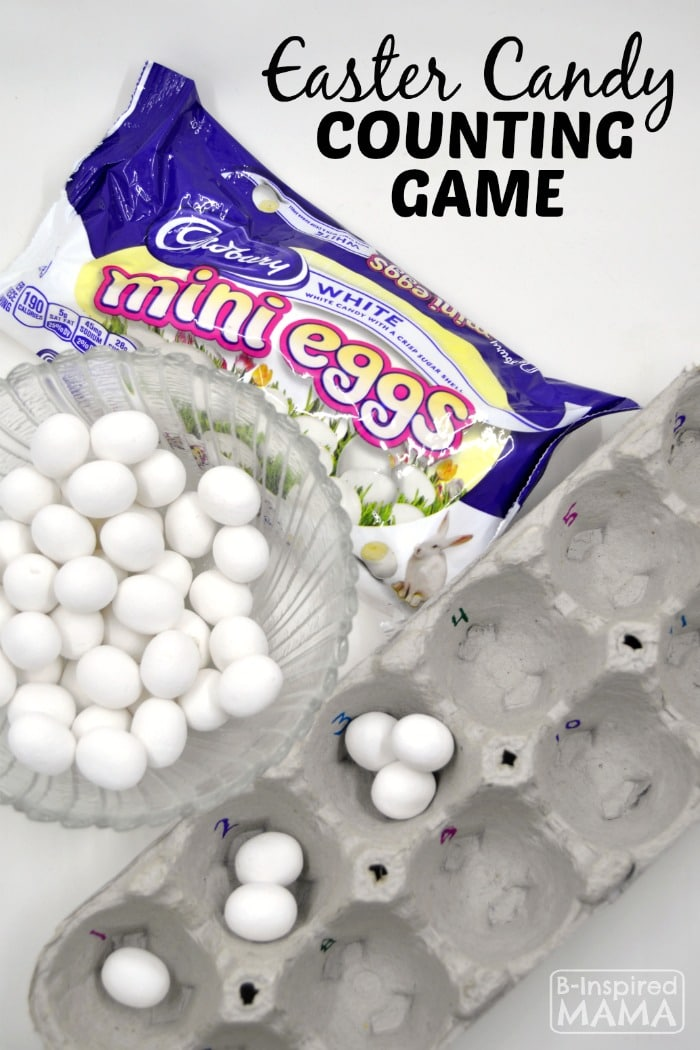 Easy Easter Candy Counting Game