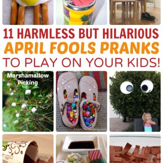 April Fools Day Fun: 11 Funny Pranks to Play on Your Kids!