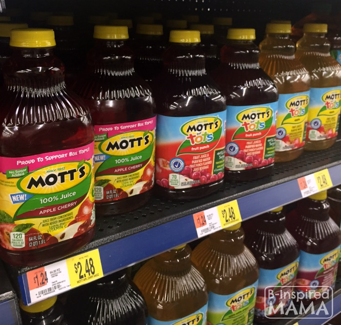 Family Dinner Time Questions - Beyond How Was Your Day - Inspired by Motts New Apple Cherry Juice from Walmart - at B-Inspired Mama