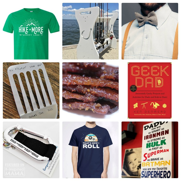 23 Seriously Cool Gifts for Every Kind of Dad - a 2016 Father's Day Gift Guide from B-Inspired Mama