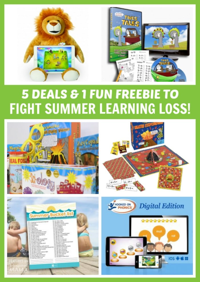5 Deals and 1 Fun Freebie to Fight Summer Learning Loss