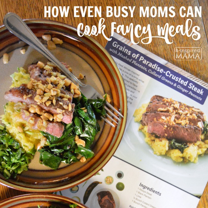 How Busy Moms can Cook Fancy Meals - A Blue Apron Review