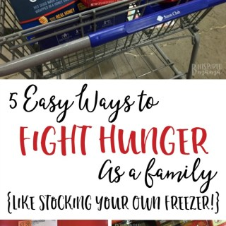 5 Easy Ways to Fight Hunger as a Family