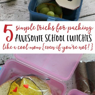 5 Tricks for Packing School Lunches Like a Cool Mom – Even if You're Not