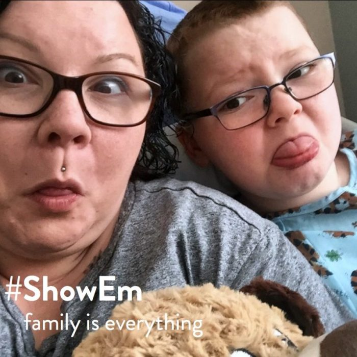 Connecting with the Courage of Parenting - Showem your authentic self - at B-Inspired Mama
