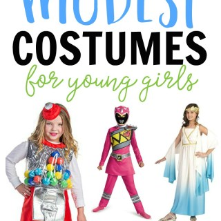 Cute but Modest Girl Halloween Costumes