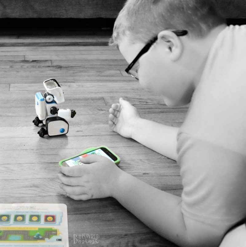Sawyer coding COJI- 2 Cool Toys your High-Tech Kids will Love - at B-Inspired Mama