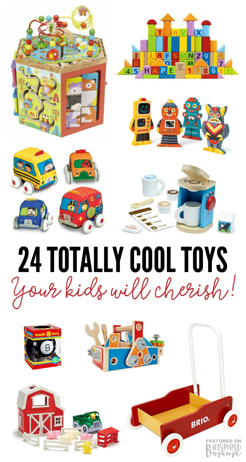 24 Totally Cool Toys your Kids will Cherish - A 2016 Christmas Toys Gift Guide - at B-Inspired Mama